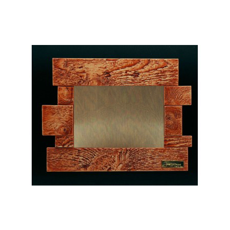 Placa diseño escultura madera TB520003PH