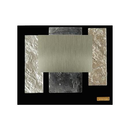 Placa diseño texturas plateado brillo mate translúcido TB520030PH