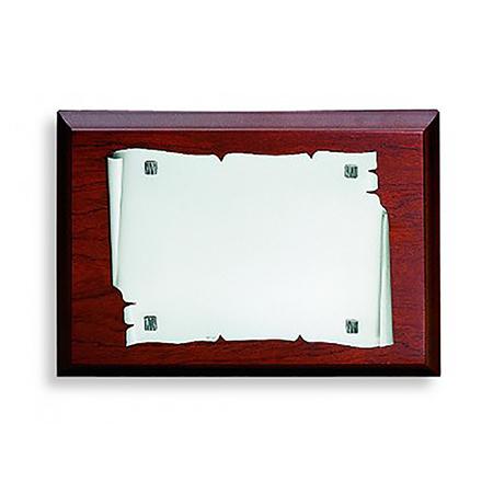 Placa pergamino de Alpaca TB52602PH