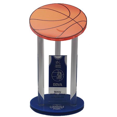 Trofeo básquet metacrilato pelotaTB0100052